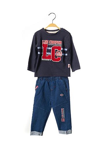 Top/pantalon bleu LEE COOPER pour garçon