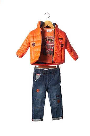 Top/pantalon orange LEE COOPER pour garçon