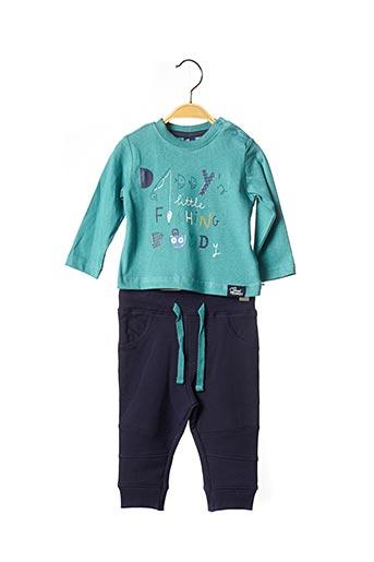 Top/pantalon vert STREET MONKEY pour garçon