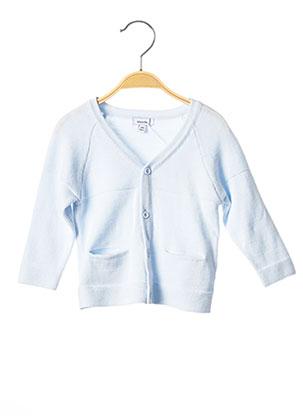 Gilet manches longues bleu ABSORBA pour enfant