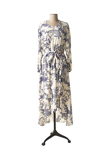 Robe longue bleu ONLY pour femme