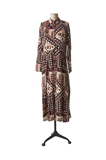 Robe longue rouge B.YOUNG pour femme