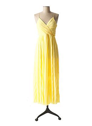 Robe longue jaune ONLY pour femme