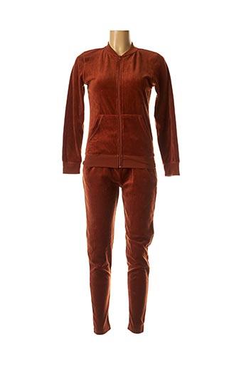 Veste/pantalon marron B.YOUNG pour femme
