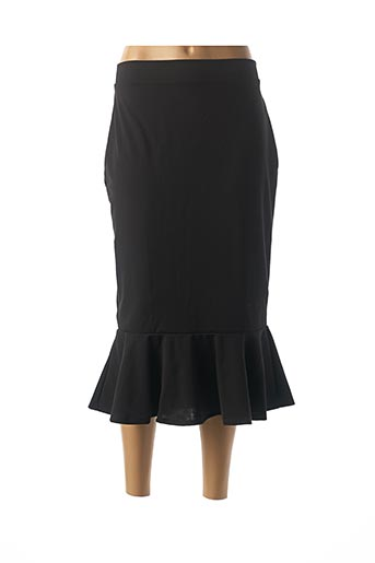 Jupe longue noir BELSIRA pour femme