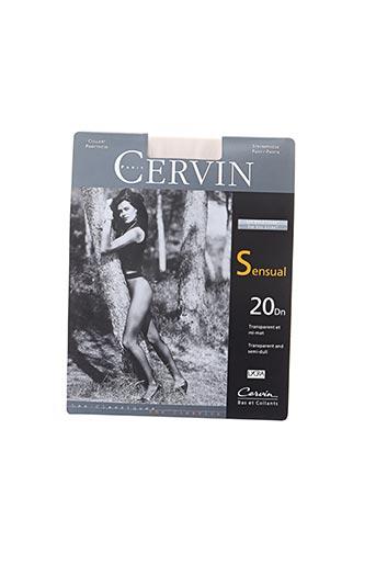Bas beige CERVIN pour femme