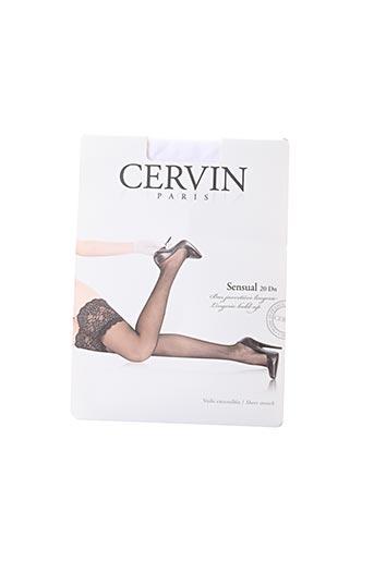 Bas blanc CERVIN pour femme
