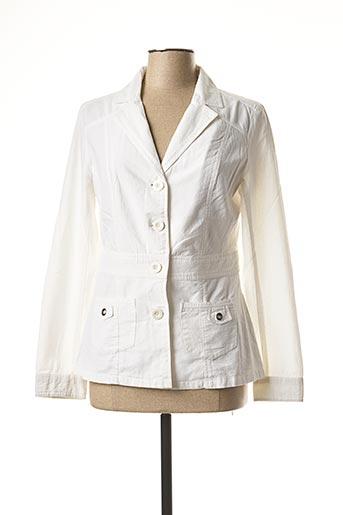 Veste chic / Blazer blanc LES MARINS DE JAC JAC pour femme
