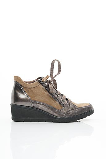 Chaussures de confort beige TAMARIS pour femme