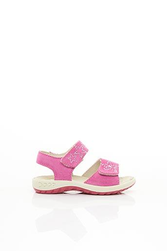 Sandales/Nu pieds rose IMAC pour fille