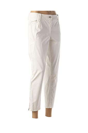 Pantalon 7/8 blanc ATELIER GARDEUR pour femme
