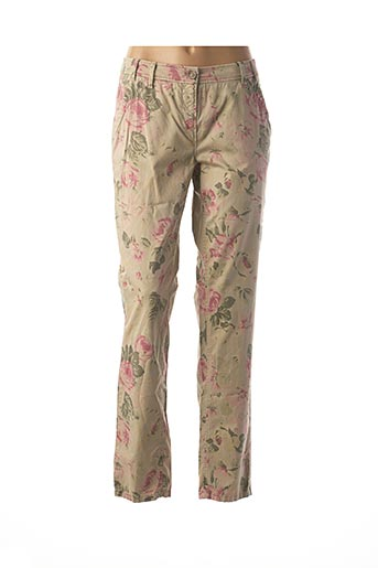 Pantalon casual beige ATELIER GARDEUR pour femme