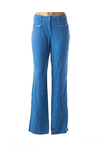 Pantalon casual bleu DESGASTE pour femme