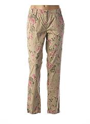 Pantalon casual beige ATELIER GARDEUR pour femme seconde vue