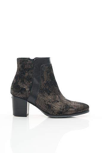 Bottines/Boots noir MYMA pour femme