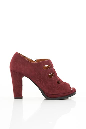 Bottines/Boots rouge CHIE MIHARA pour femme