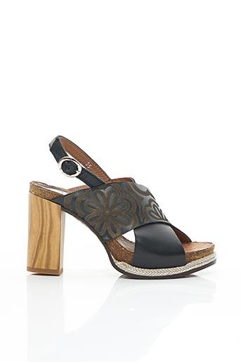Sandales/Nu pieds noir FELMINI pour femme
