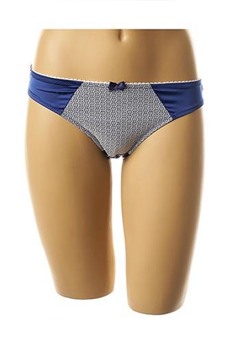 Slip/Culotte bleu FILLANDISES pour femme