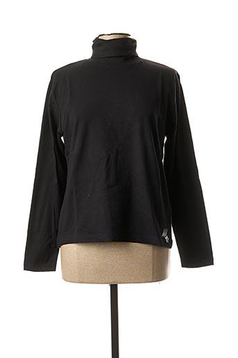 T-shirt manches longues noir ERIC TABARLY pour femme