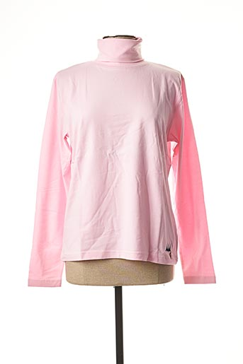 T-shirt manches longues rose ERIC TABARLY pour femme