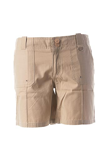 Short beige CLOUD'S pour femme