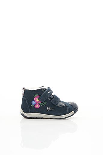 Baskets bleu GEOX pour fille