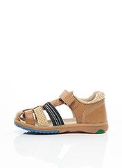 Sandales/Nu pieds beige KICKERS pour garçon seconde vue