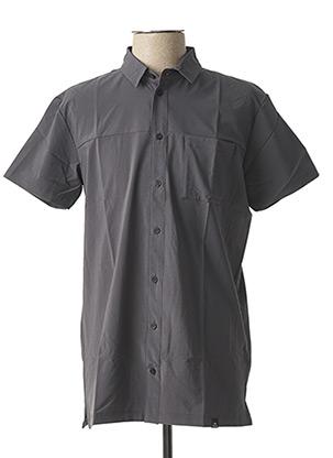 Chemise manches courtes gris EIDER pour homme