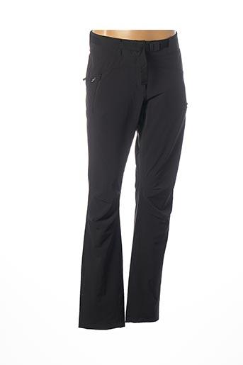 Pantalon casual noir EIDER pour femme