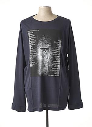 T-shirt manches longues bleu MAXFORT pour homme