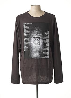 T-shirt manches longues noir MAXFORT pour homme