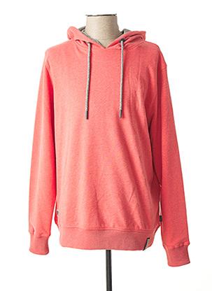 Sweat-shirt rose KITARO pour homme
