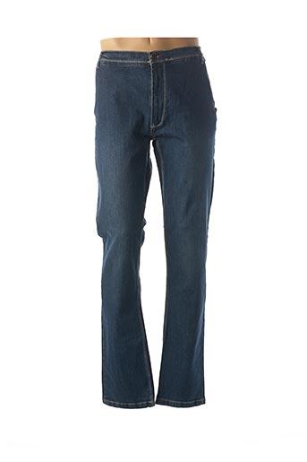 Jeans coupe droite bleu EASY MAXFORT pour homme