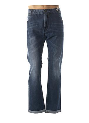 Jeans coupe droite bleu MAXFORT pour homme