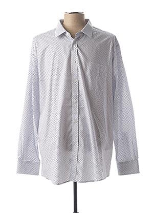 Chemise manches longues blanc BELLONI pour homme