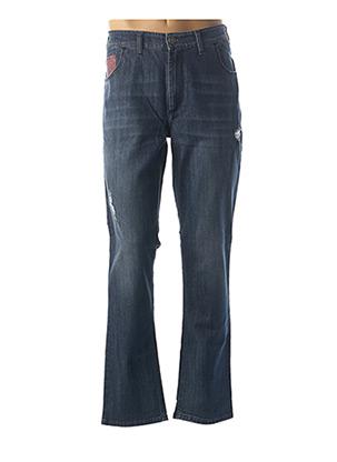 Pantalon casual bleu MAXFORT pour homme