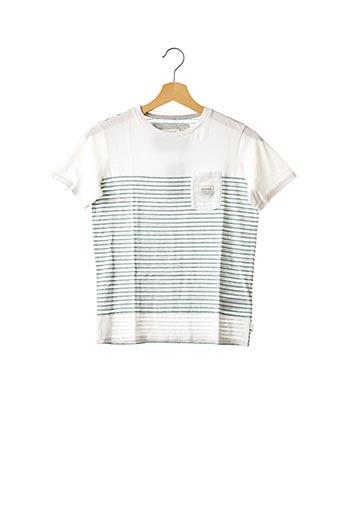 T-shirt manches courtes vert QUICKSILVER pour garçon