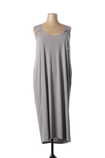 Robe mi-longue gris FIRMINE RICHARD pour femme
