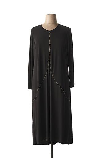 Robe mi-longue noir ALAIN MURATI pour femme