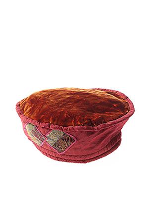 Bonnet marron GANTEB'S pour femme