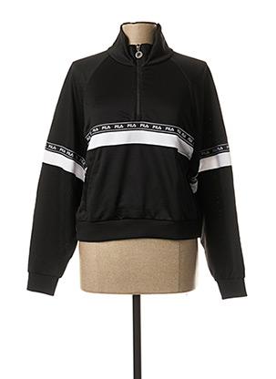 Sweat-shirt noir FIL A pour femme