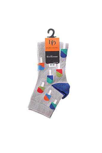 Chaussettes gris DORE DORE pour enfant