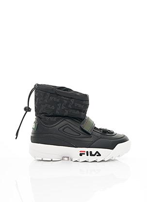 Bottines/Boots noir FILA pour fille