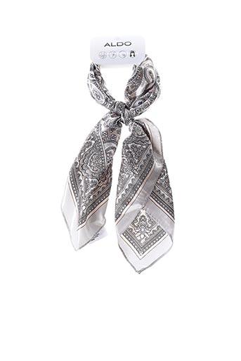 Foulard gris ALDO pour femme