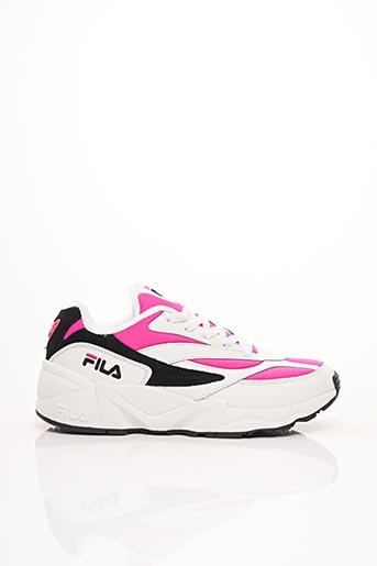 Baskets rose FILA pour femme