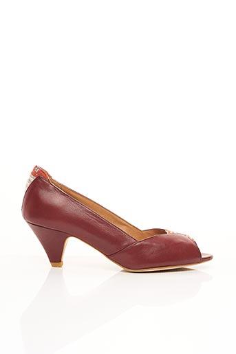 Escarpins rouge SESSUN pour femme