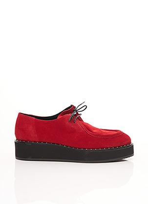 Chaussures bâteau rouge JONAK pour femme