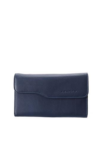 Portefeuille bleu SABRINA pour femme