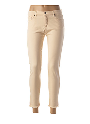 Pantalon 7/8 rose BERENICE pour femme