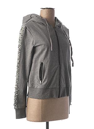 Veste casual gris FRACOMINA pour femme